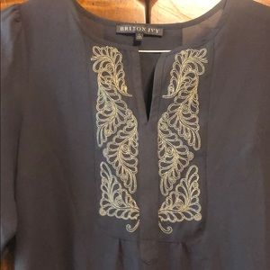 Brixon Ivy Tops - Brixon Ivy embroidered blouse